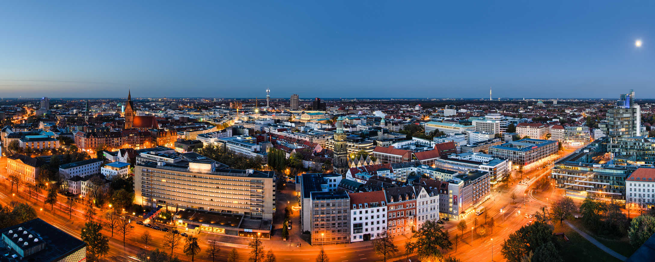 Hannover bei Nacht - L3 Consulting