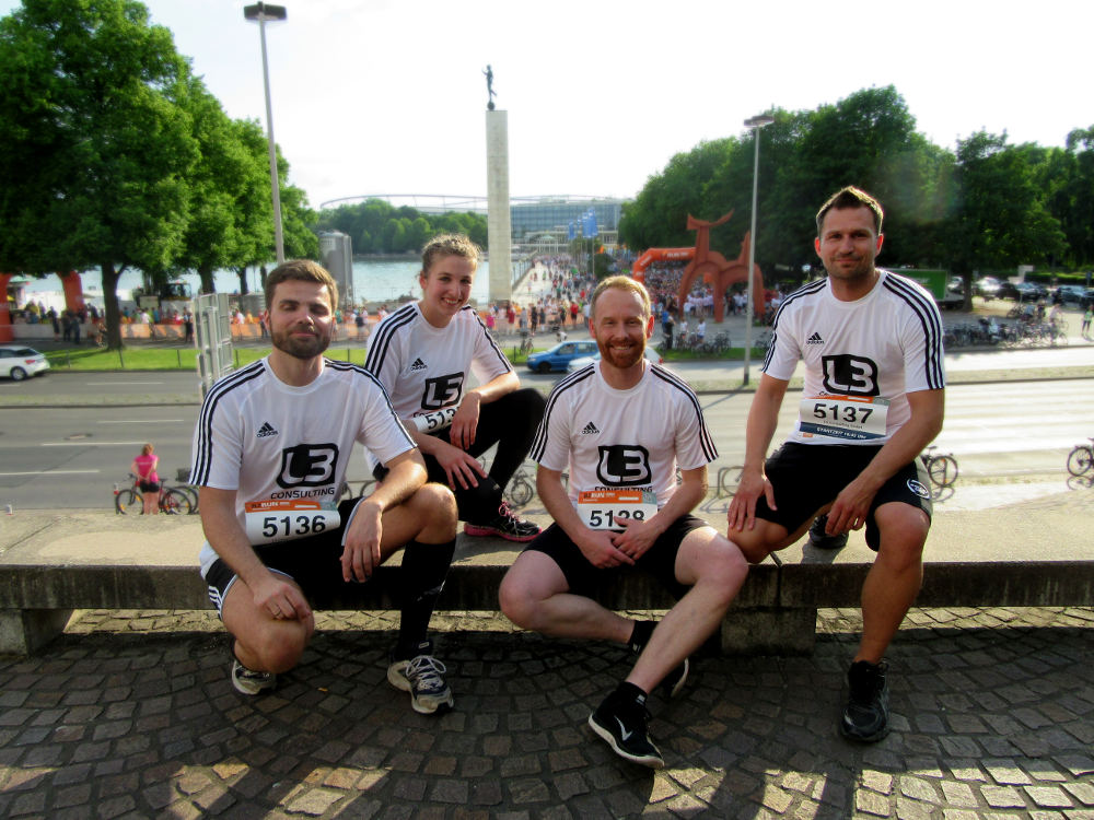 L3 beim B2Run in Hannover