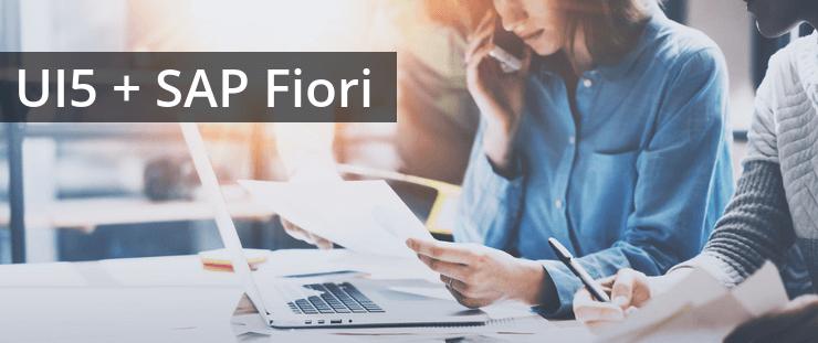 SAP UI5 Fiori Anwendungen