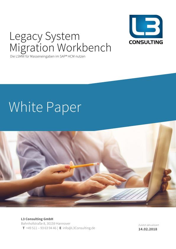 White Paper: Die LSMW für Masseneingaben im SAP HCM nutzen
