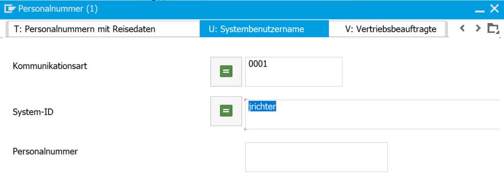 Suche nach dem Benutzernamen - IT0105