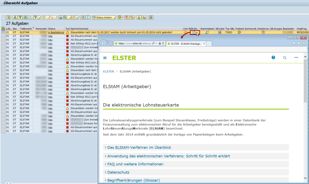Notification Tool: Einbindung eines Links als Kundendokumentation