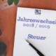 Jahreswechsel: Steuer