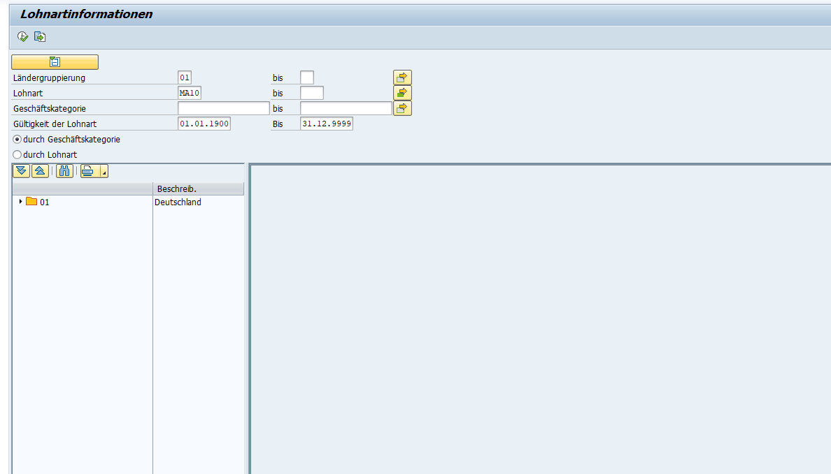 SAP HCM Lohnarteninformation: Übersicht der Ausgabe